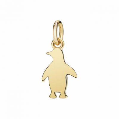 Dodo pinguino piccolo in oro giallo