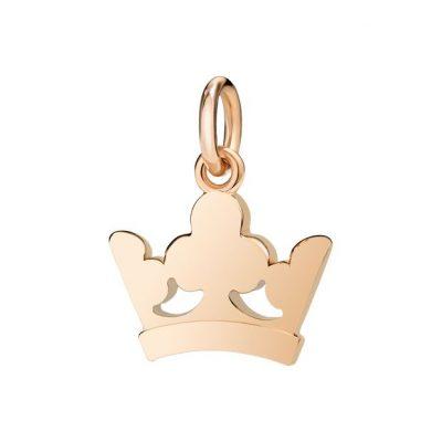 Dodo corona re in oro rosa