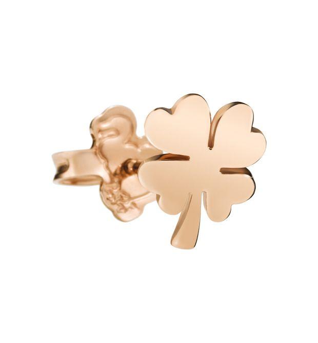 Il miglior posto maggiore sconto di vendita 2019 originale Dodo orecchino quadrifoglio in oro rosa
