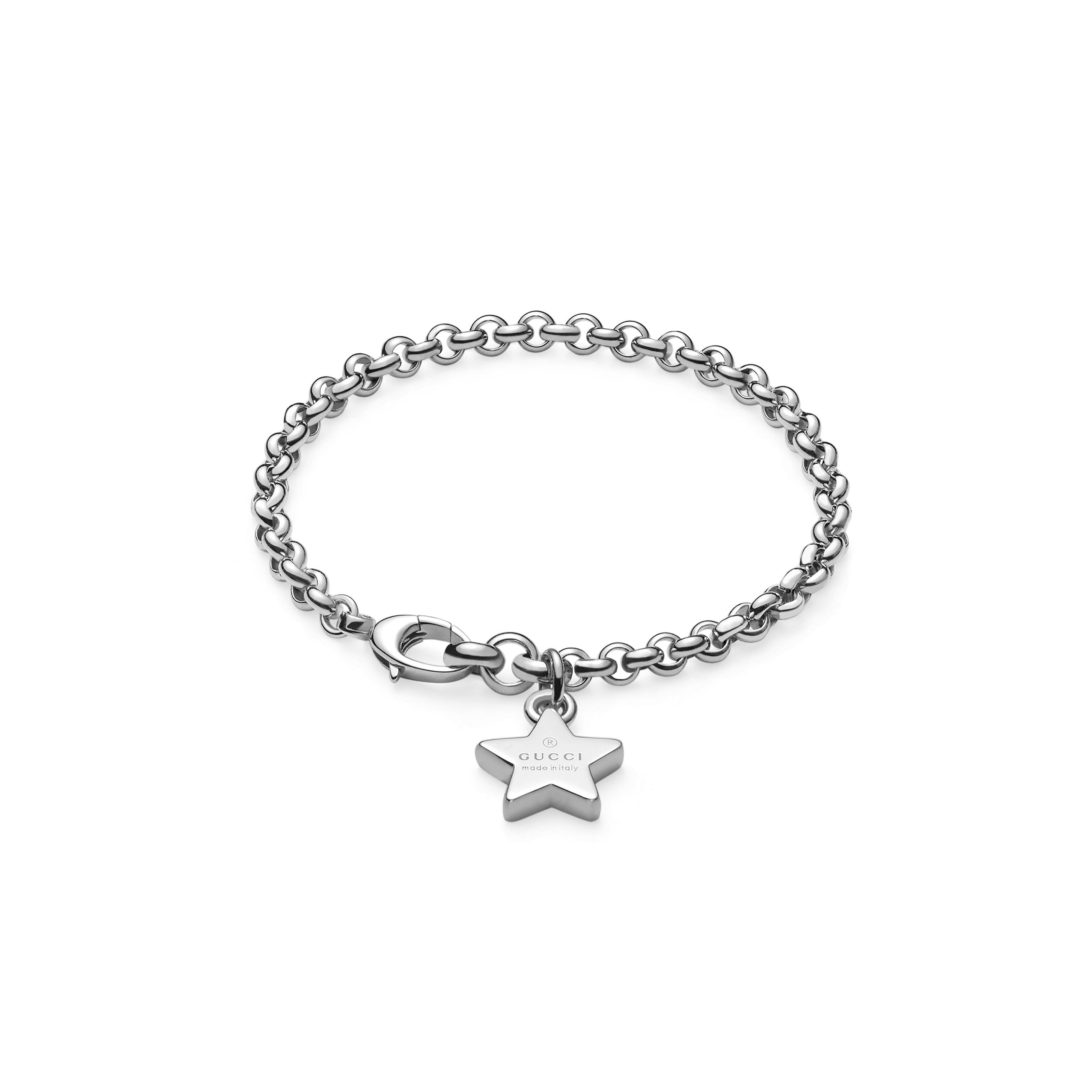 b00e372e3e Home / Gioielli / Bracciali / Gucci bracciale trademark stella in argento  ...