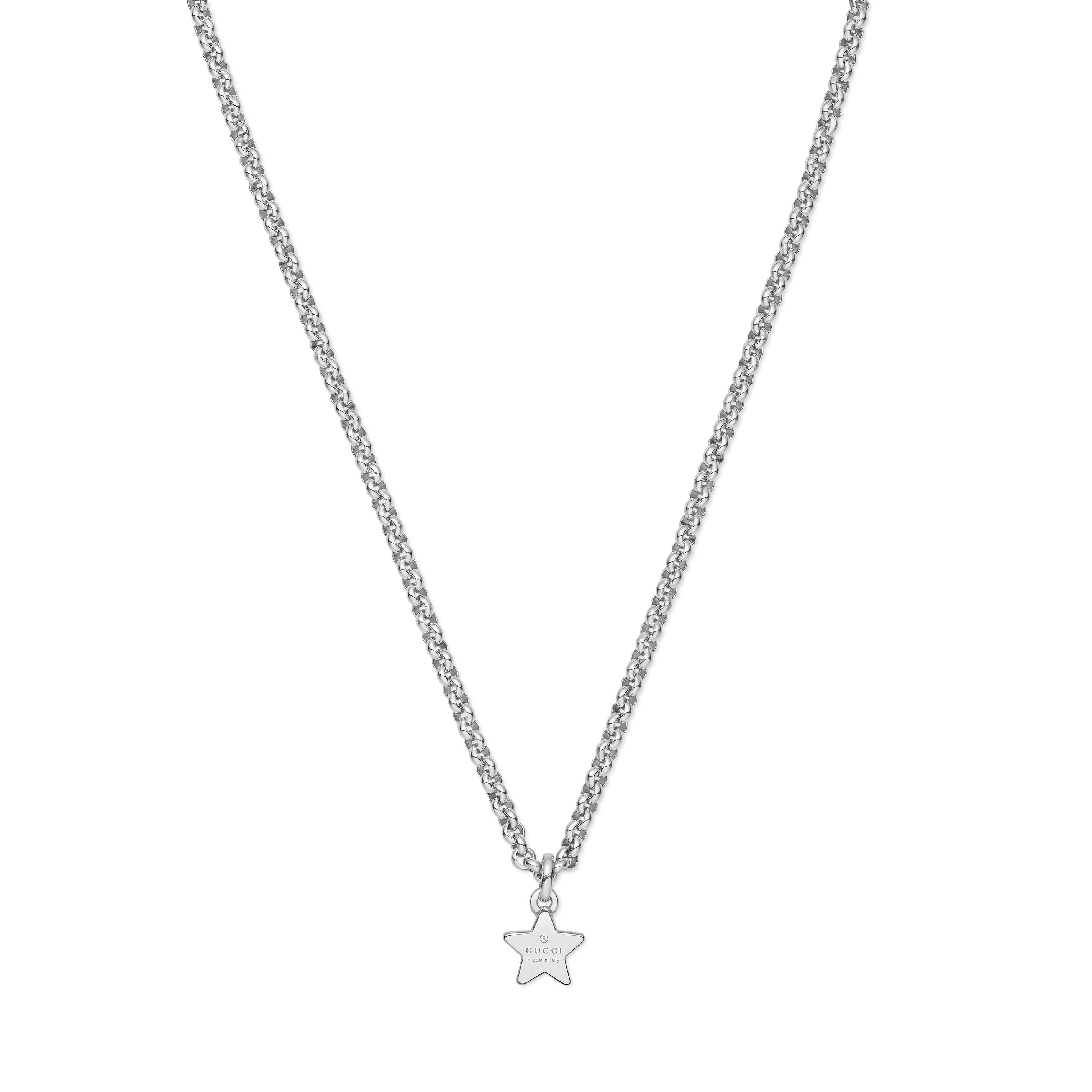 e7a914d69 Home / Gioielli / Collane / Gucci collana trademark stella in argento