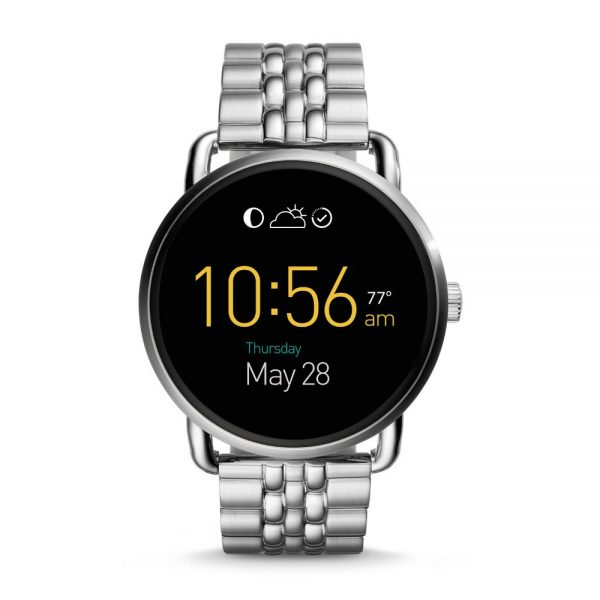 Fossil orologio smartwatch Q Wander con touchscreen 45mm