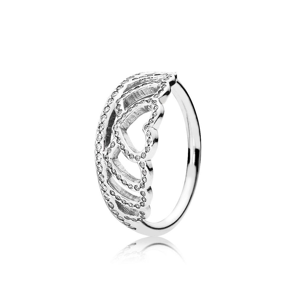 anello cuore pandora