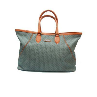 Montblanc borsa Signature dettagli colore arancio
