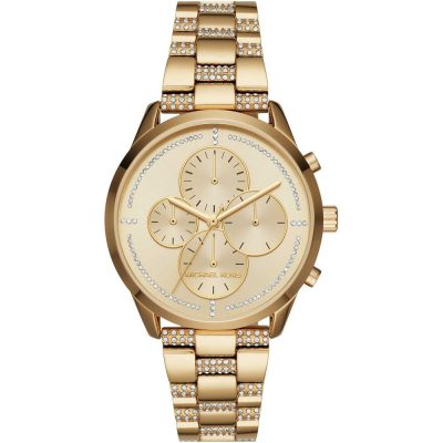 Michael Kors orologio cronografo Slater colore gold