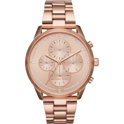 Michael Kors orologio cronografo Slater colore rose gold