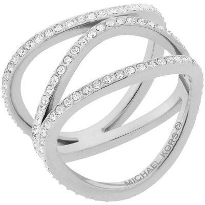 Michael Kors anello donna Brilliance colore argento