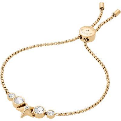 Michael Kors bracciale Brilliance colore gold dettagli in cristallo
