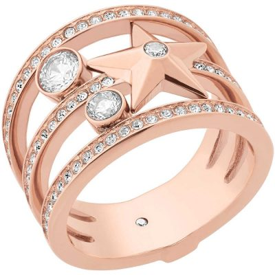 Michael Kors anello donna Brilliance colore rose gold