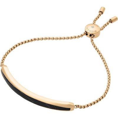 Michael Kors bracciale Fashion colore gold dettaglio agata