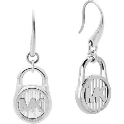 Michael Kors orecchini Logo colore argento