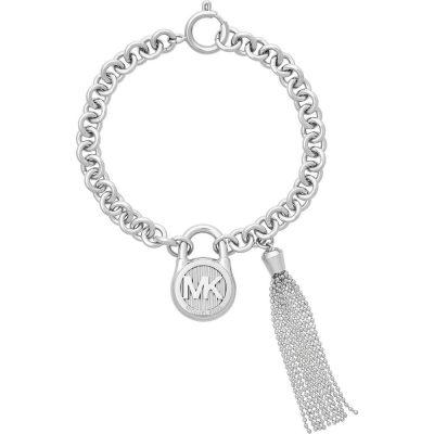 Michael Kors bracciale Logo in acciaio