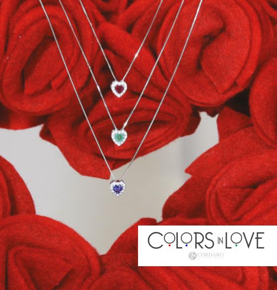 Colors in Love, la prima collezione di gioielli Cordaro