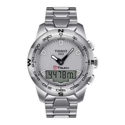 Tissot – Cronografo T-Touch ll Steel T0474201107100