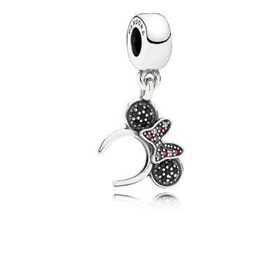 Pandora – Charm pendente cerchietto di Minnie