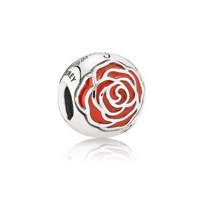 Pandora – Charm la rosa incantata di Belle