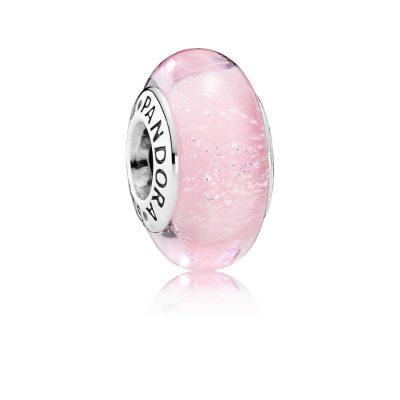 Pandora – Charm in vetro di Murano il colore iconico di Aurora