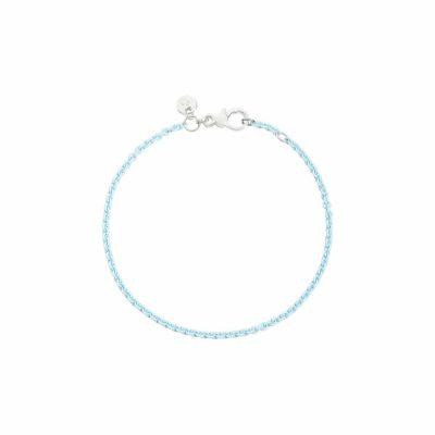 Dodo – Bracciale in argento azzurro pastello DB/APA/19/K