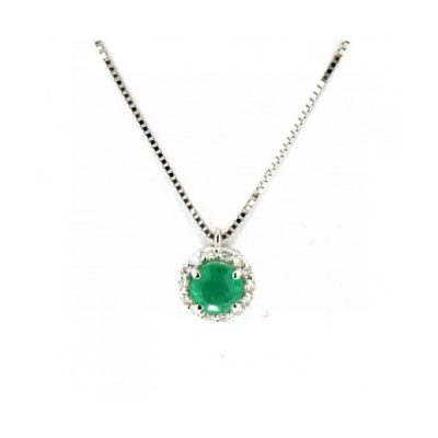 Recarlo – Collana smeraldi e diamanti P33CC244/SM-42__