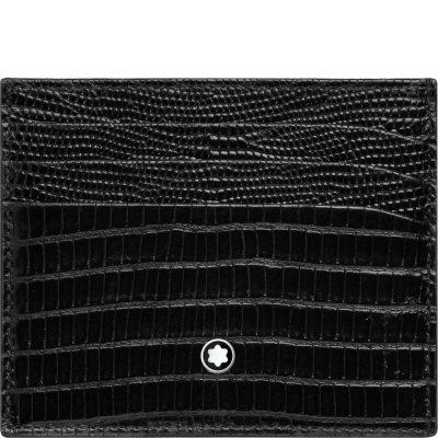 Montblanc – Custodia 6 scomparti Meisterstück Selection Lizard 116296