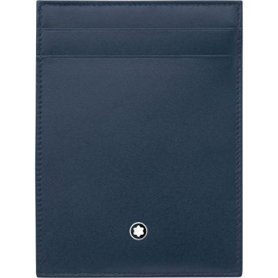 Montblanc – Custodia tascabile 4 scomparti Meisterstück con portadocumento 118311
