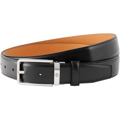 Montblanc – Cintura nera elegante cut-to-size 118418