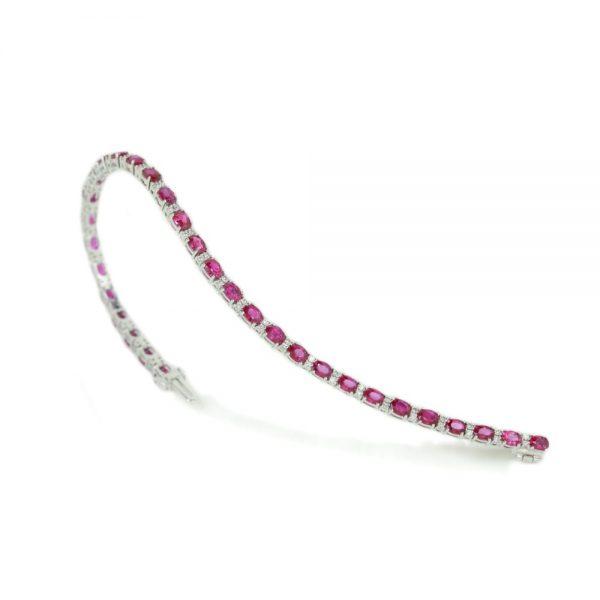 Cordaro – Tennis con rubini e diamanti MMC 1351