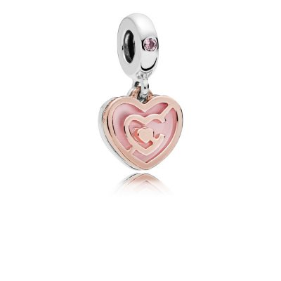 Pandora – Charm pendente patto d'amore 787801NBP