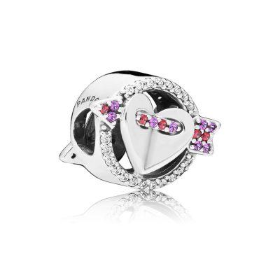 Pandora – Charm freccia e cuore scintillanti 797827CZMX