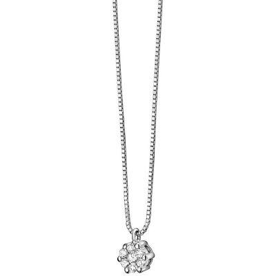 Comete Collana Rose Di Diamanti GLB 610