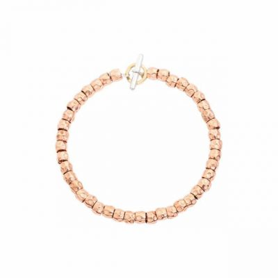 Dodo Kit Bracciale Granelli Oro Rosa DKB/3/9/18/K