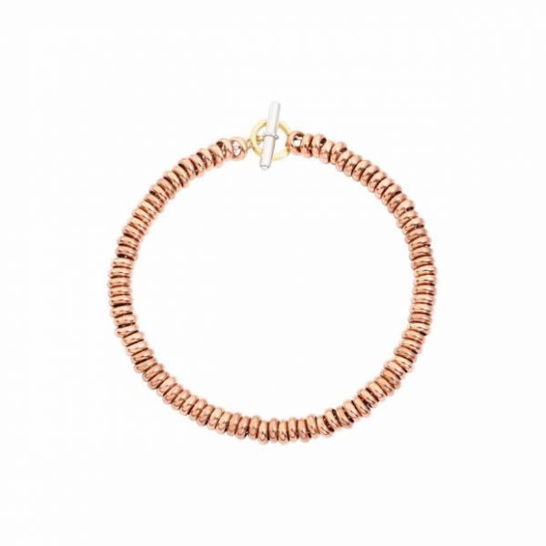 Dodo Kit Bracciale Rondelle Oro Rosa DKB/C/9/18/K