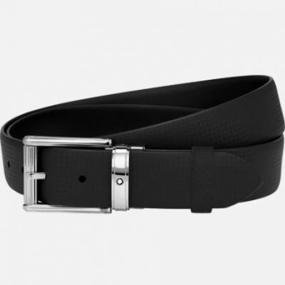 Montblanc Cintura nera casual su misura 123908