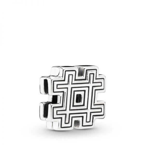 Pandora Charm Reflexions simbolo Hashtag 798193