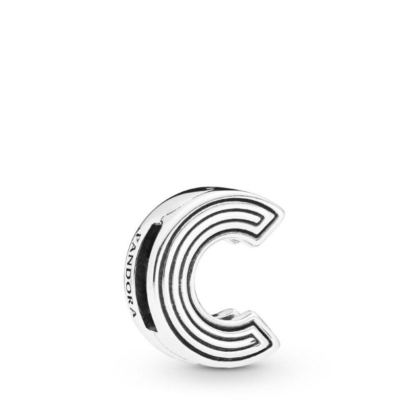 charm pandora lettera c