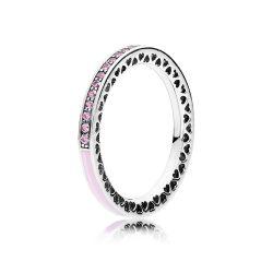 anello pandora cuore rosa prezzo