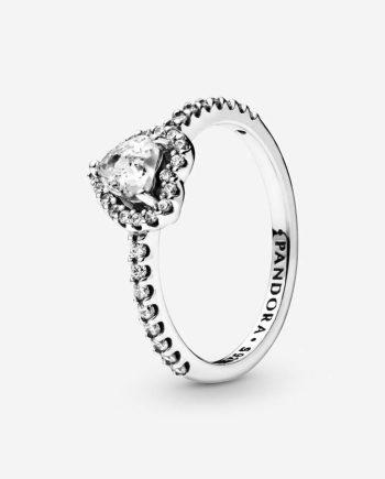 anello pandora cuore d'inverno