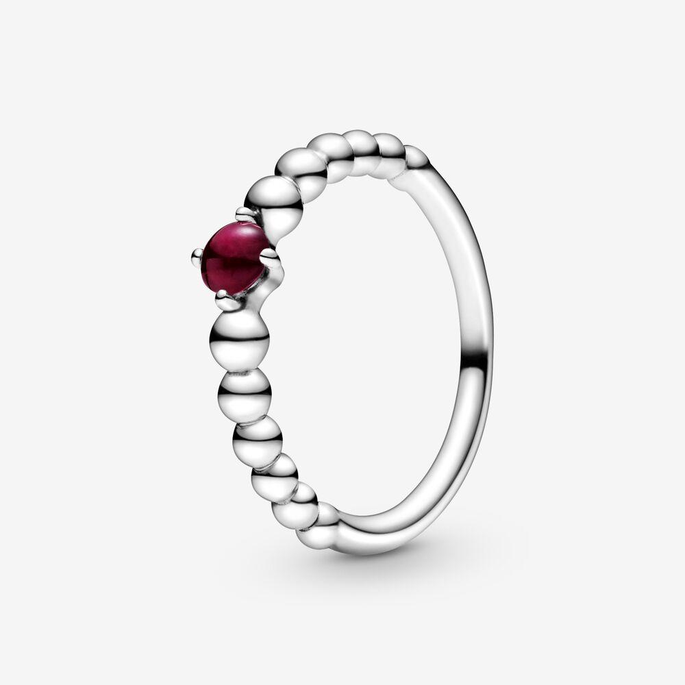 pandora anello rosso