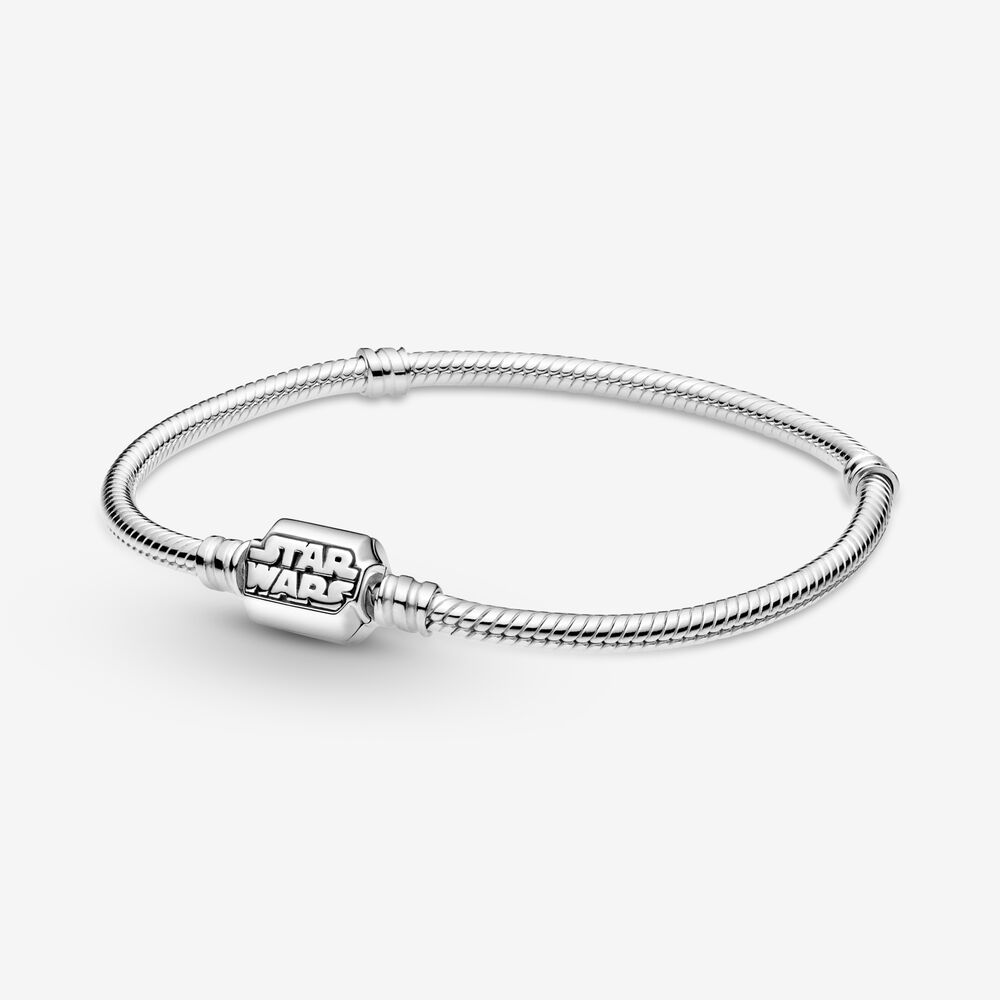 Star Wars, bracciale con maglia snake Pandora Moments 599254C00